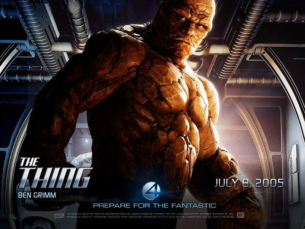 Movies Wallpaper: Fantastic Four - The Thing