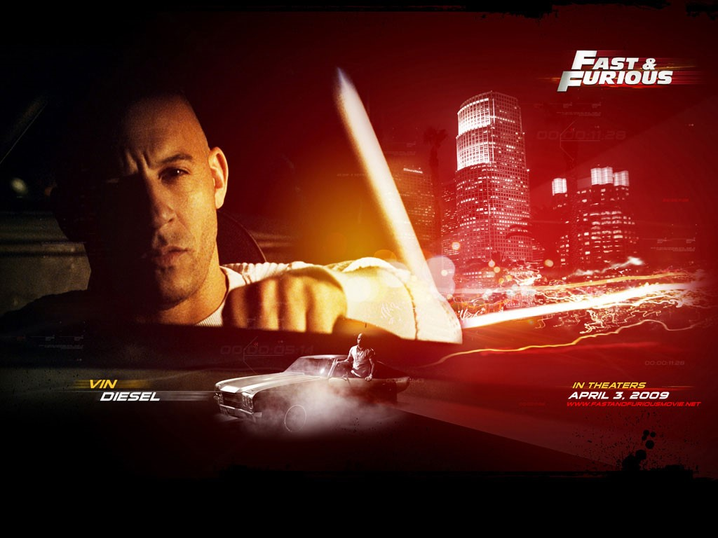 Movies Wallpaper: Fast and Furious IV