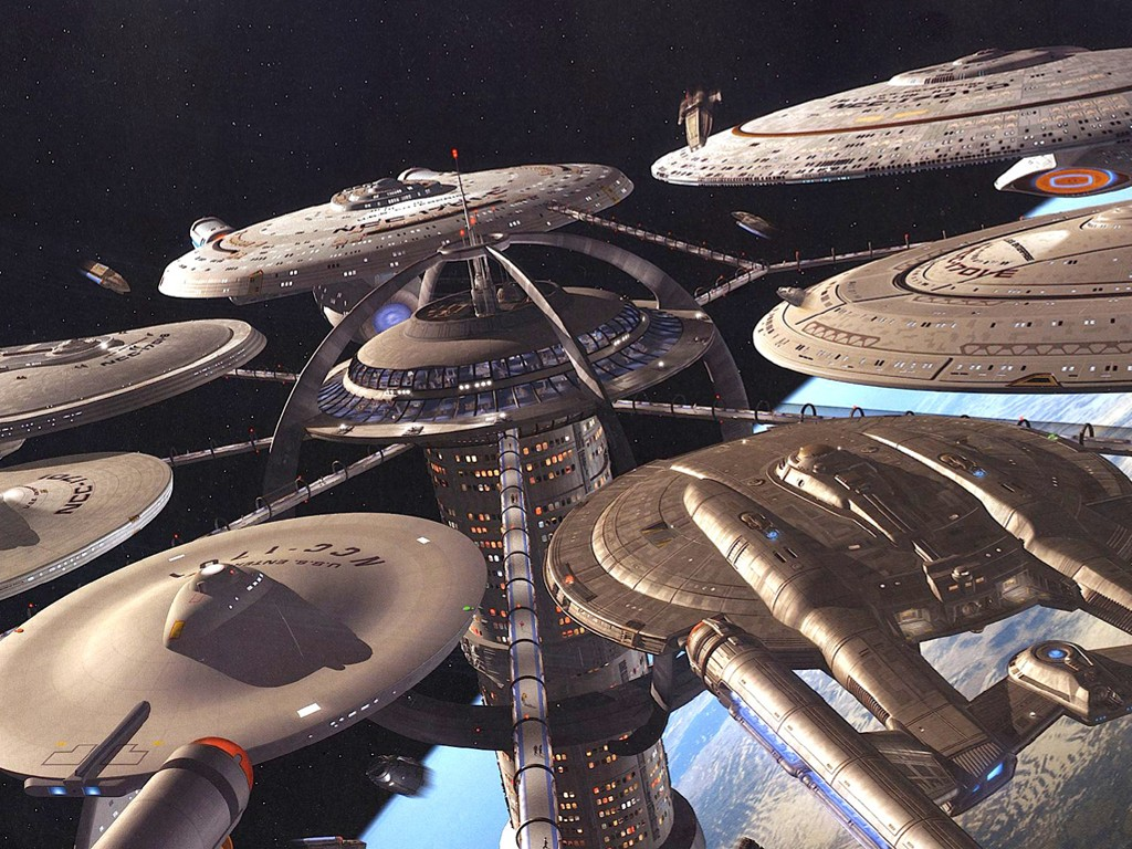 Movies Wallpaper: Federation Starbase