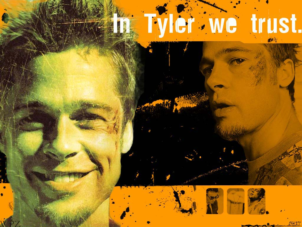Movies Wallpaper: Fight Club - In Tyler We Trust