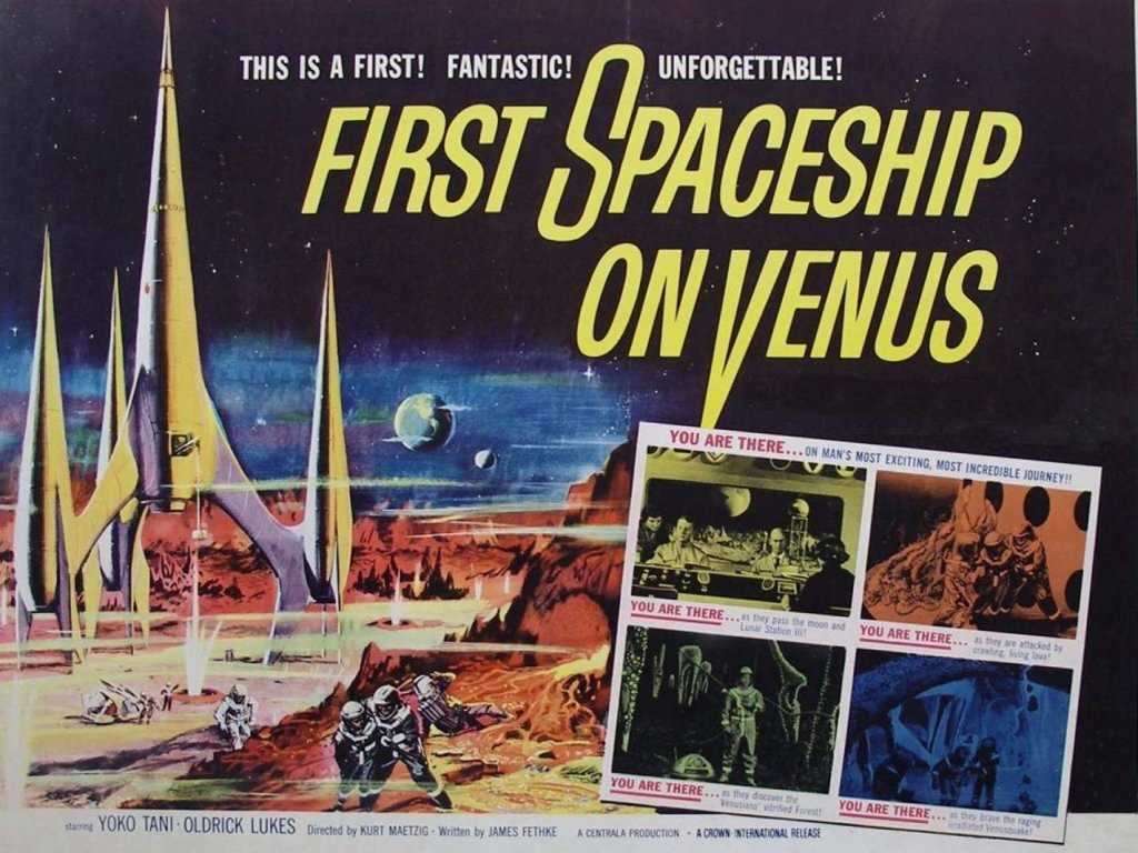 Movies Wallpaper: First Spaceship on Venus