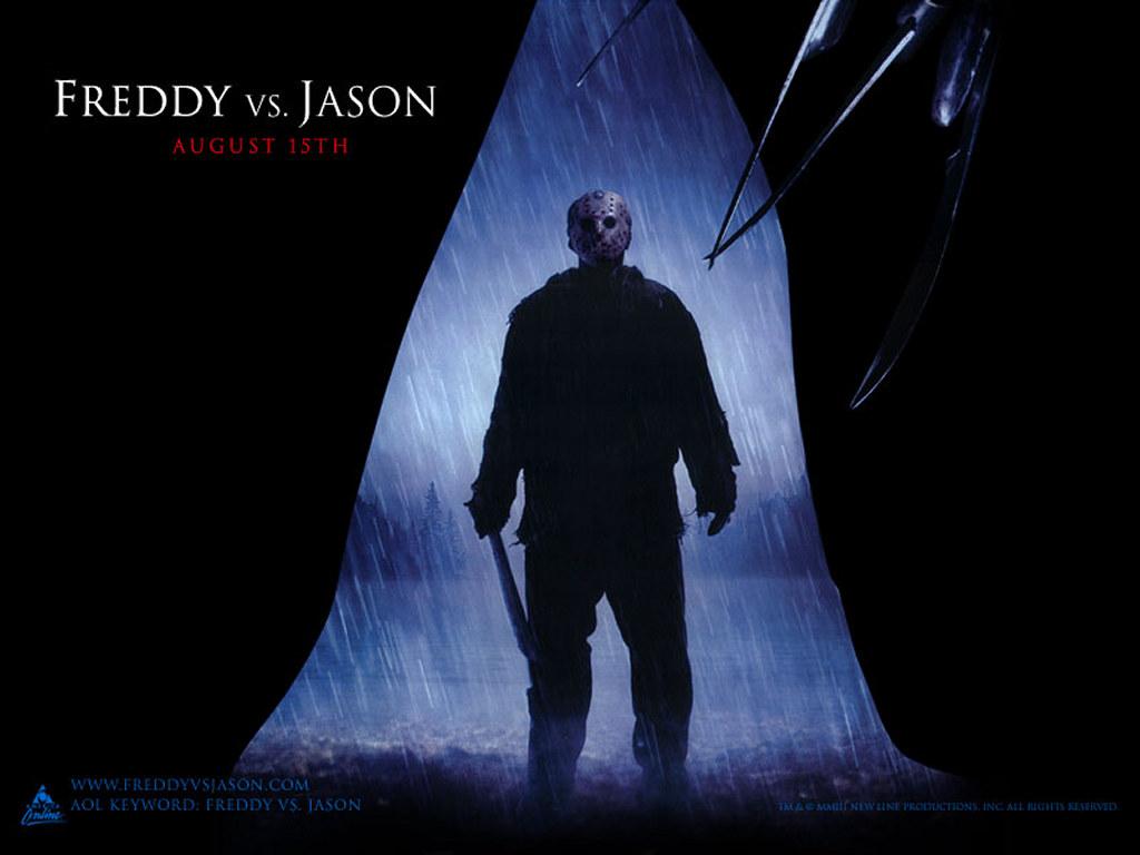 Movies Wallpaper: Freddy vs Jason