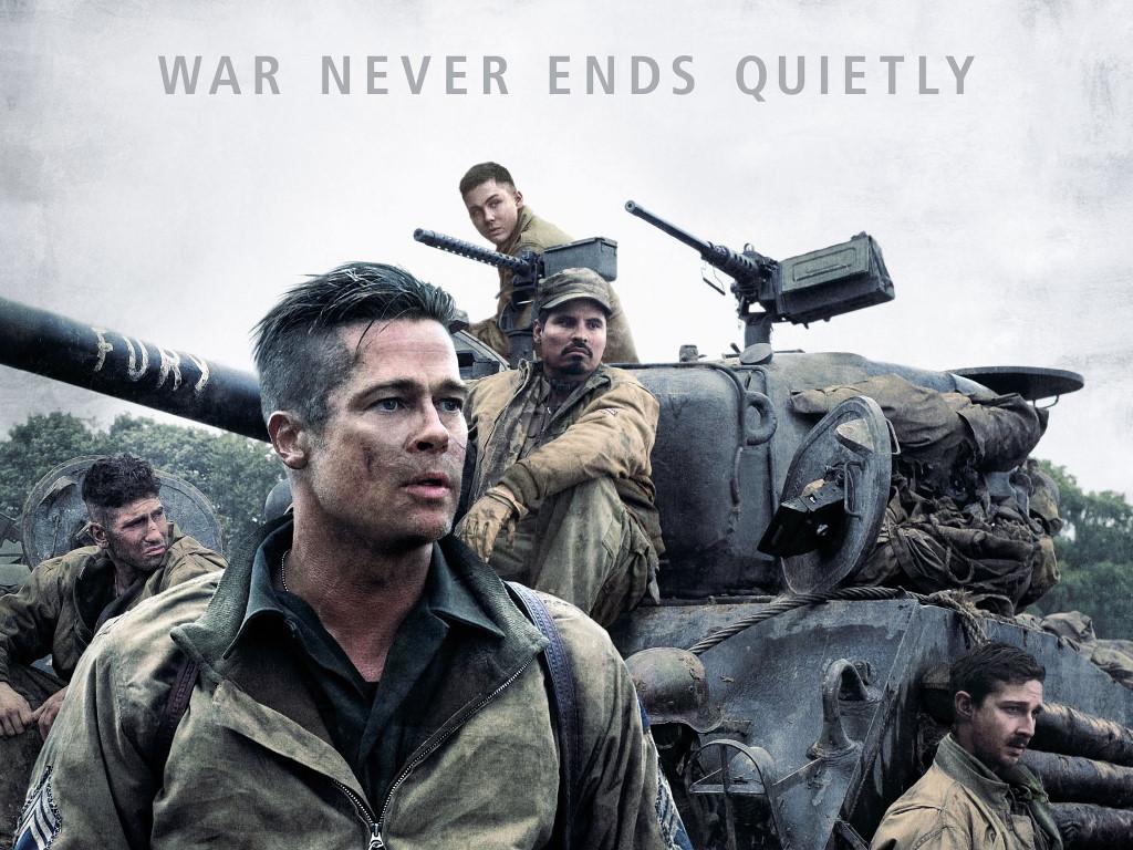 Movies Wallpaper: Fury