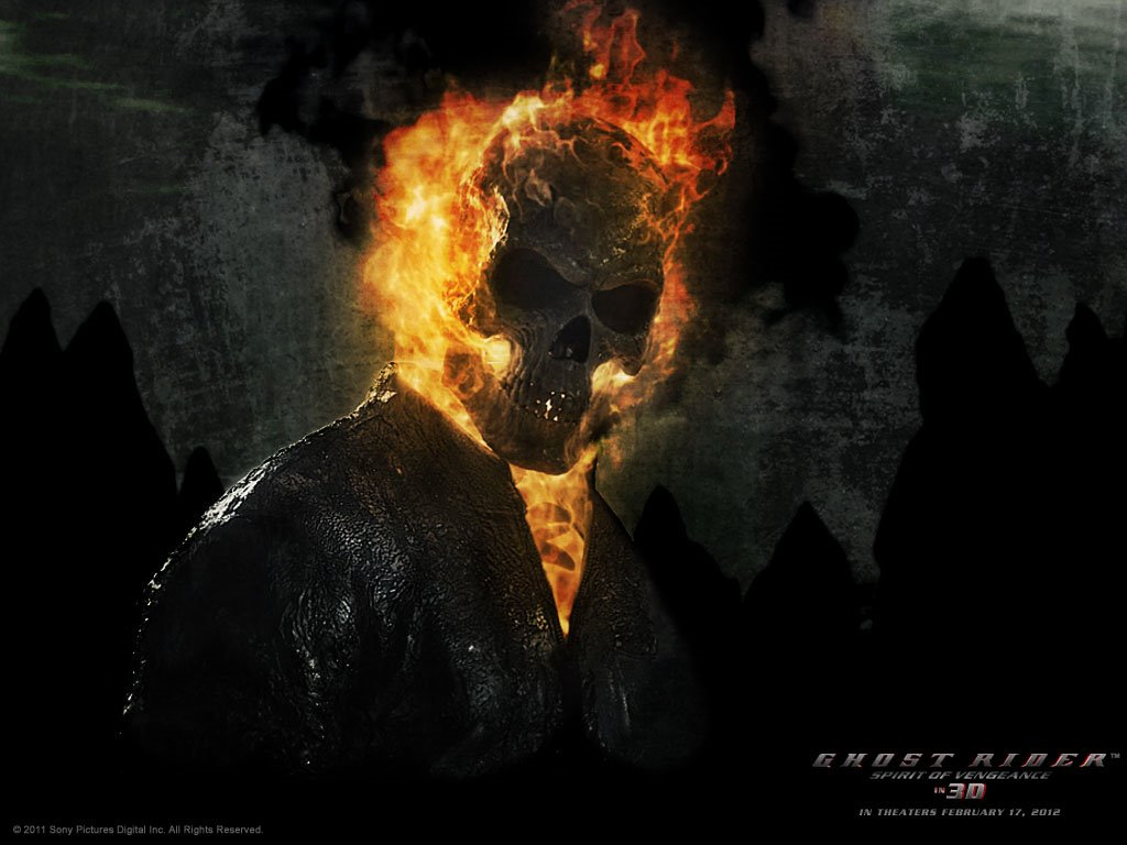 Movies Wallpaper: Ghost Rider - Spirit of Vengeance