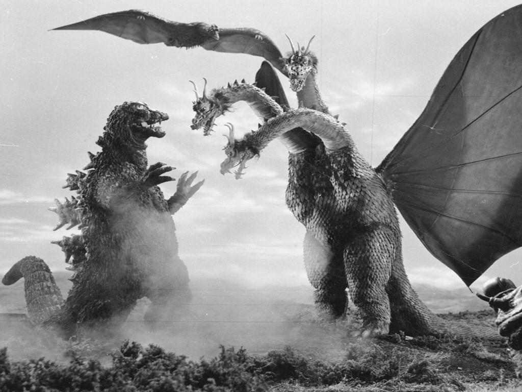 Movies Wallpaper: Godzilla vs King Ghidorah