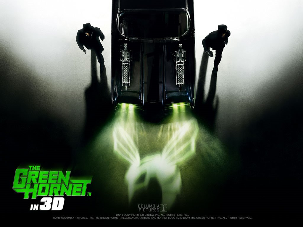 Movies Wallpaper: Green Hornet (2011)
