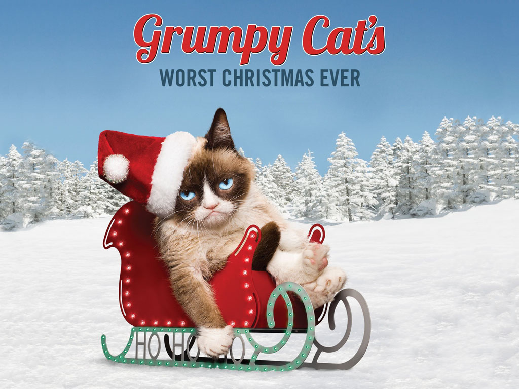 Movies Wallpaper: Grumpy Cat's Worst Christmas Ever