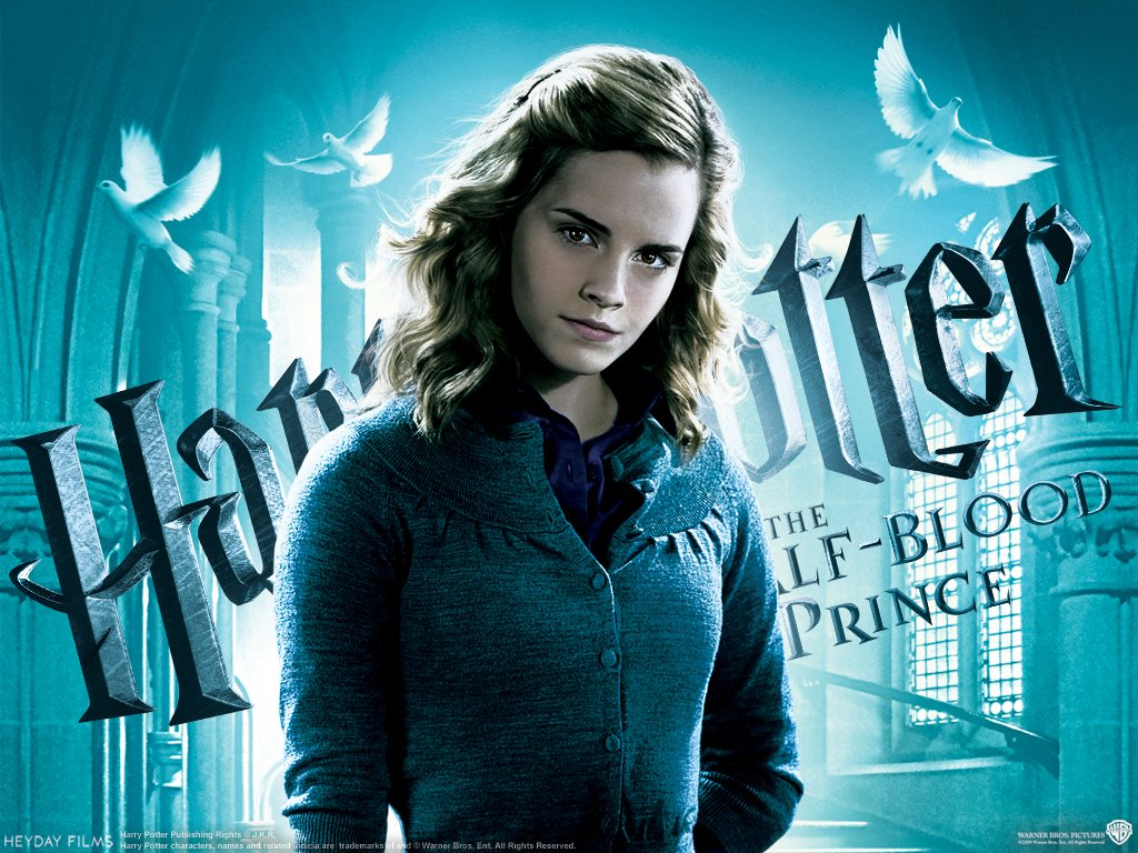 Movies Wallpaper: Harry Potter and The Half-Blood Prince - Hermione