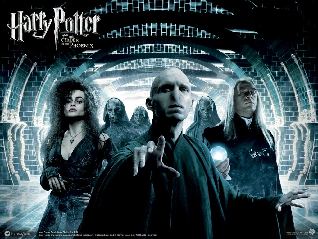 Movies Wallpaper: Harry Potter and the Order of the Phoenix - Death Eaters