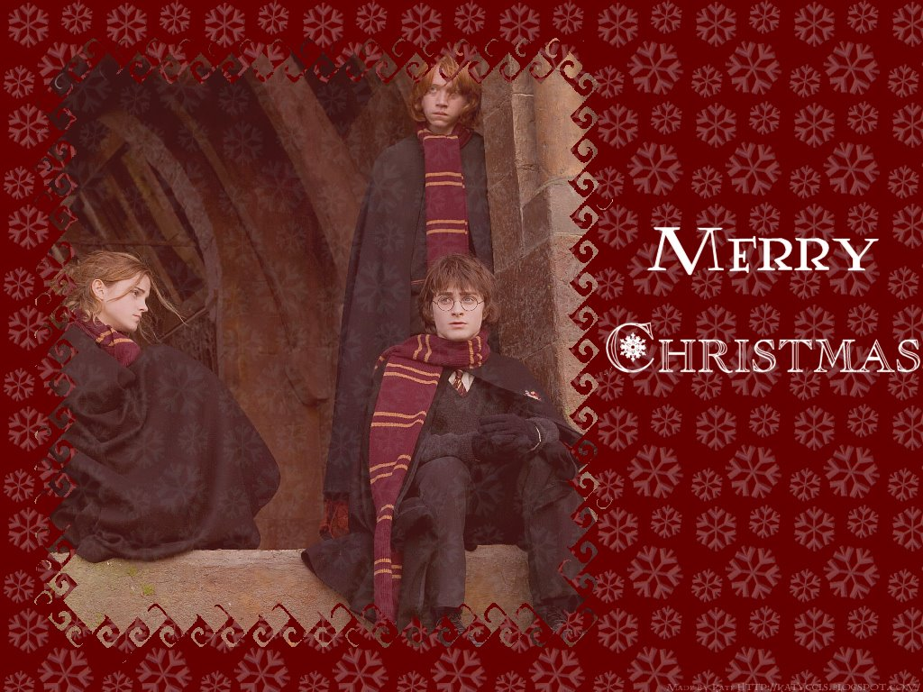 Movies Wallpaper: Harry Potter - Merry Christmas