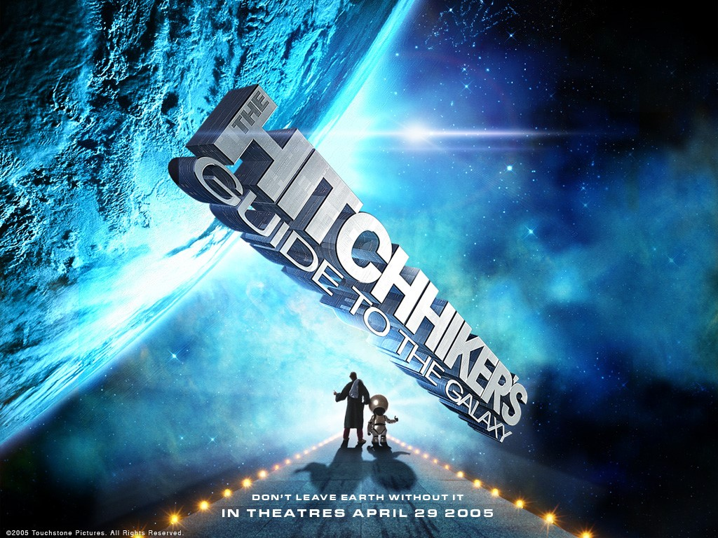 Movies Wallpaper: The Hitchhikers Guide to the Galaxy