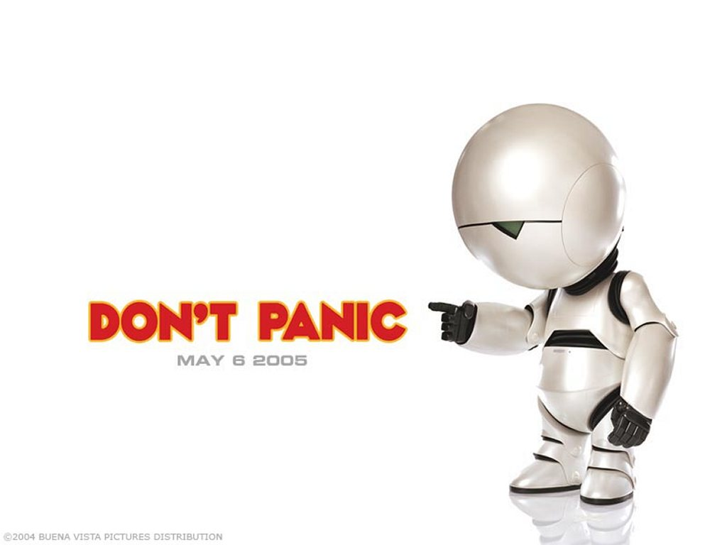 Movies Wallpaper: Hitchhiker's Guide to the Galaxy
