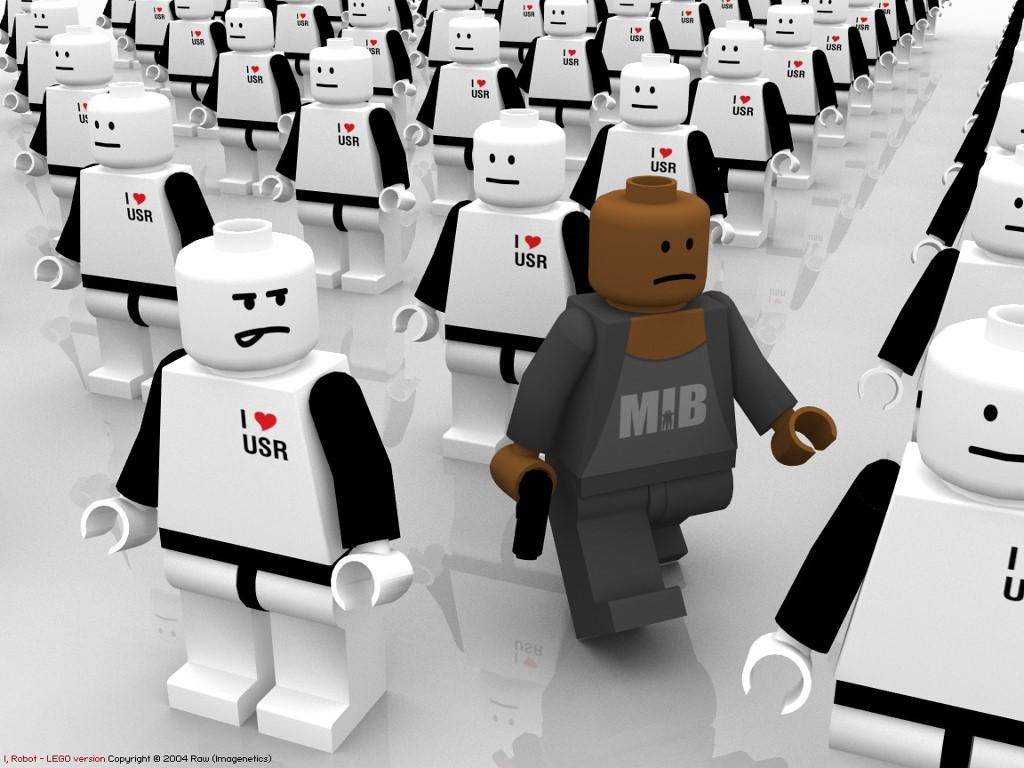 Movies Wallpaper: I, Robot (Lego)