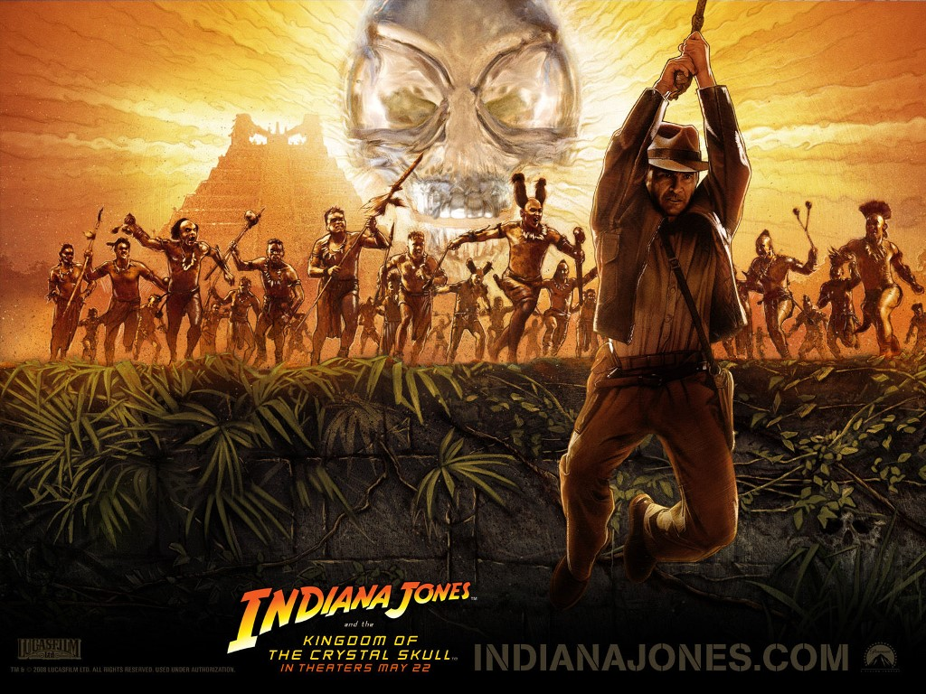 Movies Wallpaper: Indiana Jones and the Kingdom of the Crystal Skull