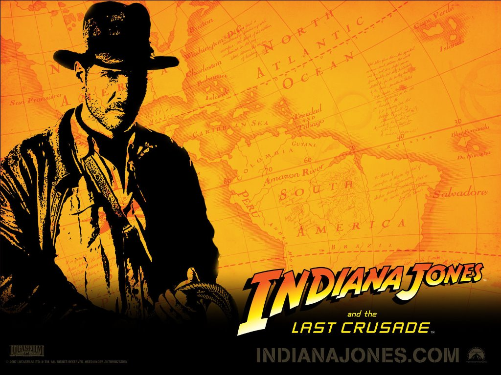 Movies Wallpaper: Indiana Jones and the Last Crusade