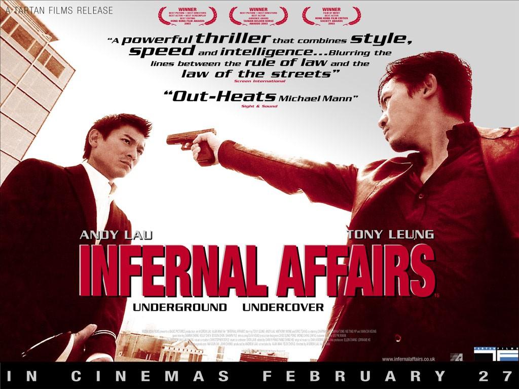 Movies Wallpaper: Infernal Affairs