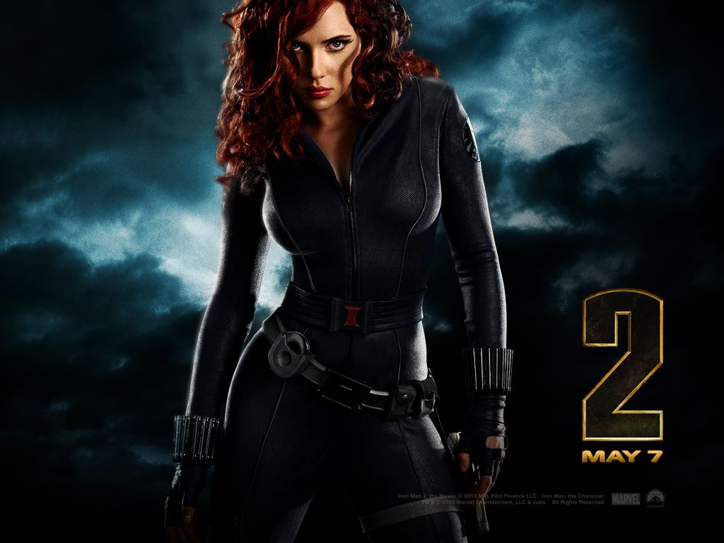 Movies Wallpaper: Iron Man 2 - Black Widow