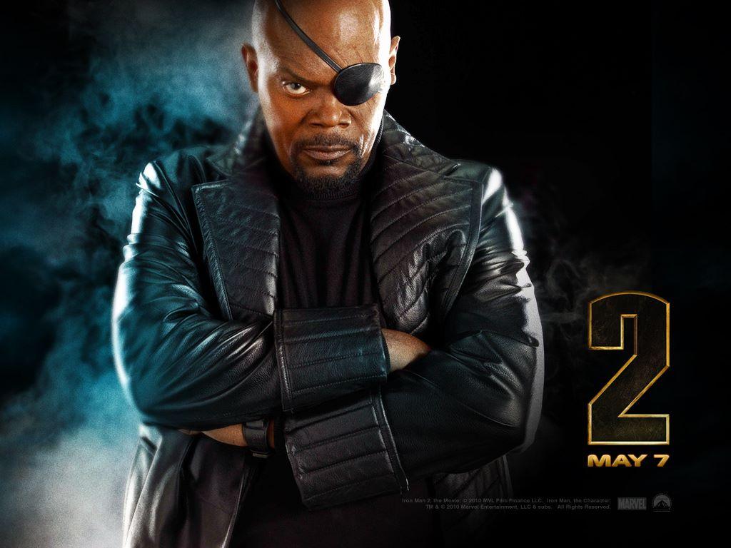 Movies Wallpaper: Iron Man 2 - Nick Fury