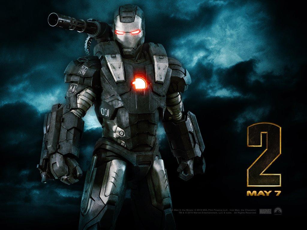 Movies Wallpaper: Iron Man 2 - War Machine