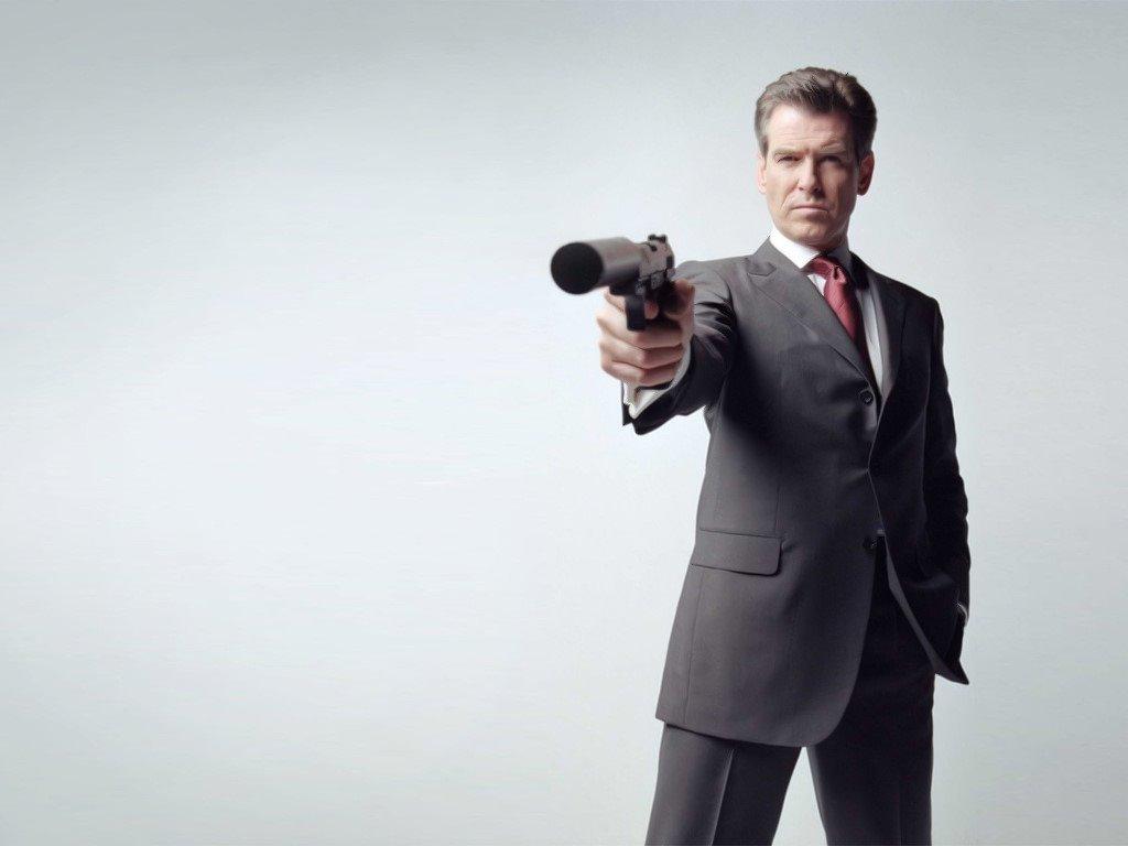 Movies Wallpaper: James Bond - Pierce Brosnan