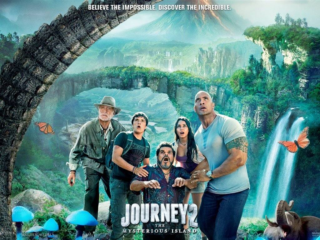 Movies Wallpaper: Journey 2 - The Mysterious Island