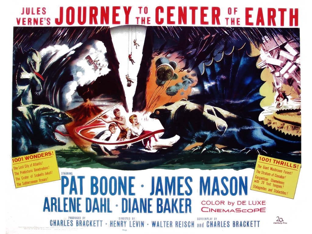 Movies Wallpaper: Journey to the Center of the Earth