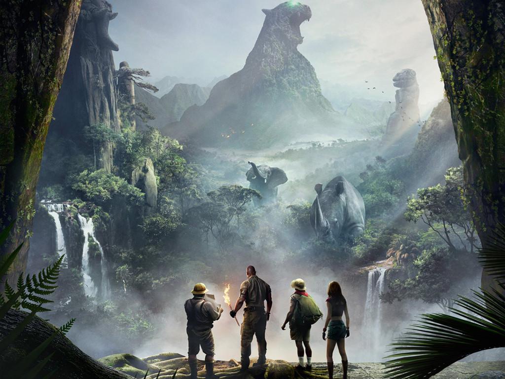 Movies Wallpaper: Jumanji - Welcome to the Jungle
