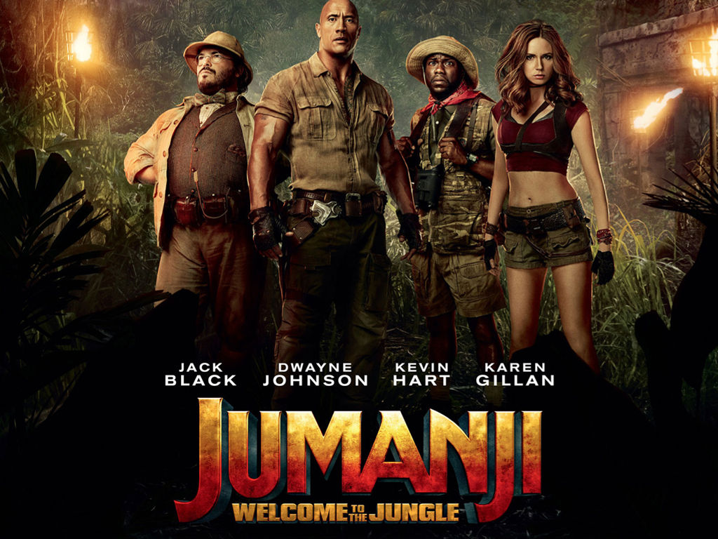Movies Wallpaper: Jumanji (2018)