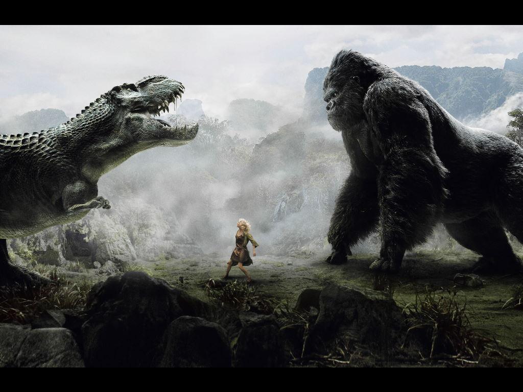 Movies Wallpaper: King Kong (2005) - Tyranosaur