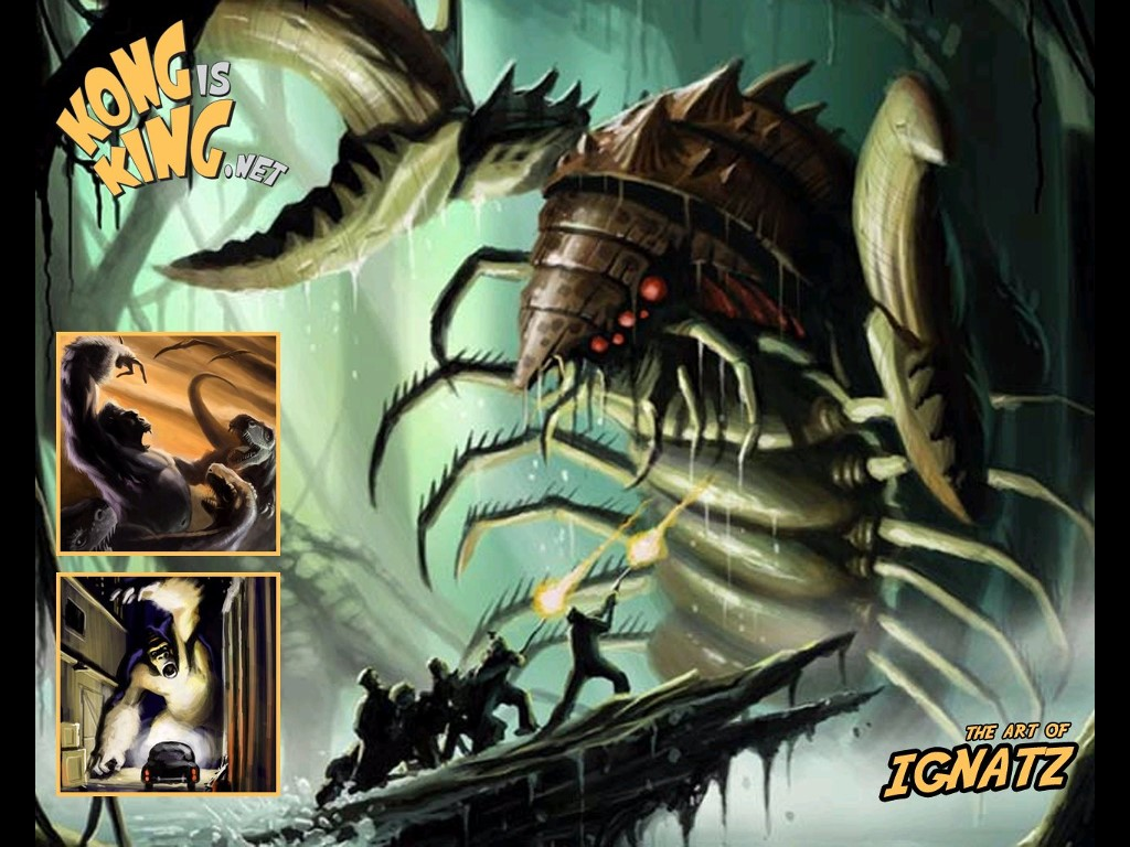 Movies Wallpaper: King Kong - Conceptual Art