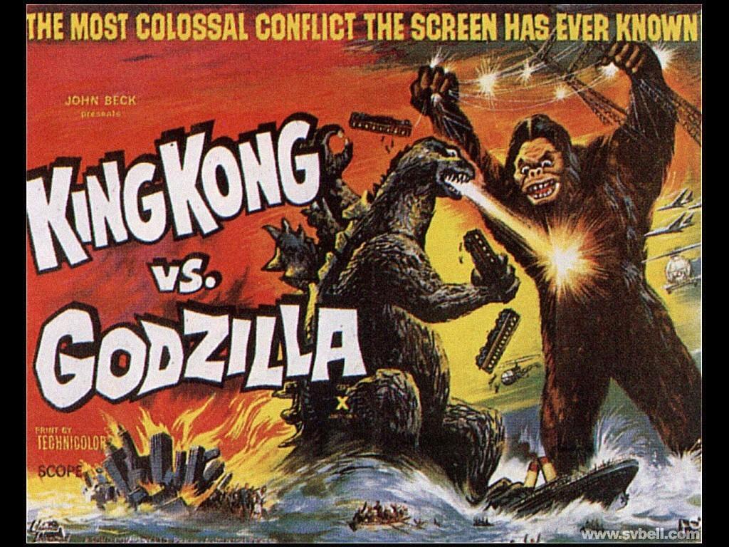 Movies Wallpaper: King Kong vs. Godzilla