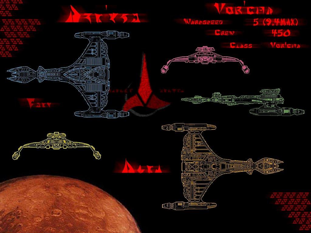 Movies Wallpaper: Star Trek - Klingon Ship
