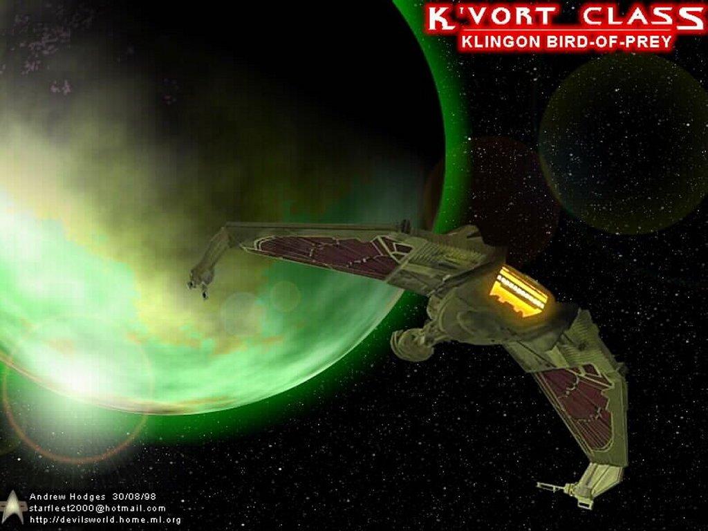 Movies Wallpaper: Espaçonave Klingon