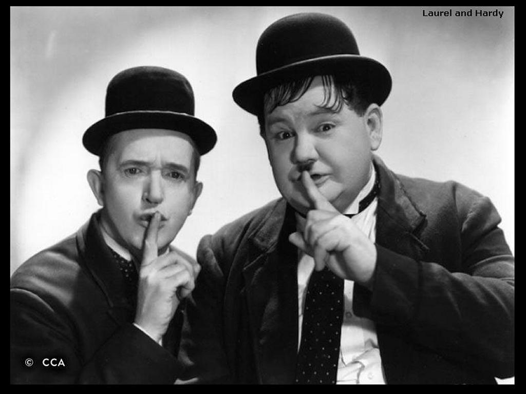 Movies Wallpaper: Laurel and Hardy