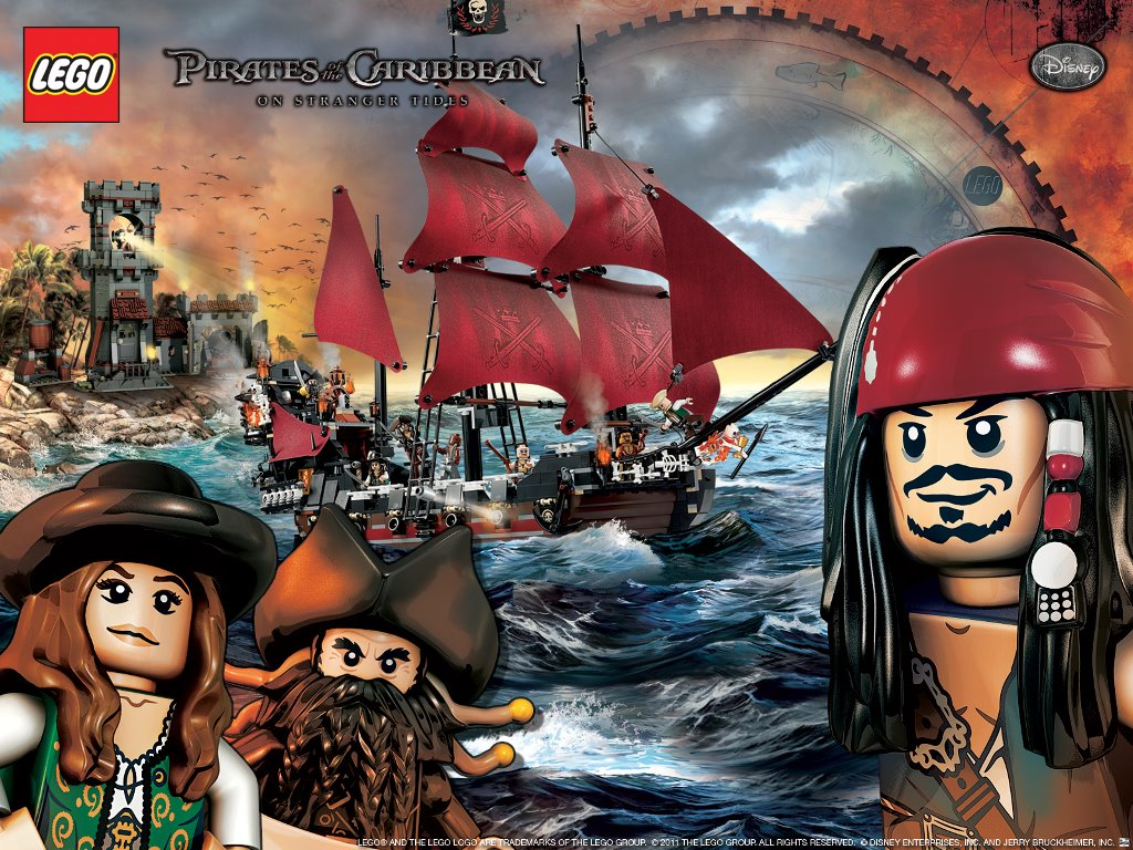 Movies Wallpaper: LEGO Pirates of the Caribbean