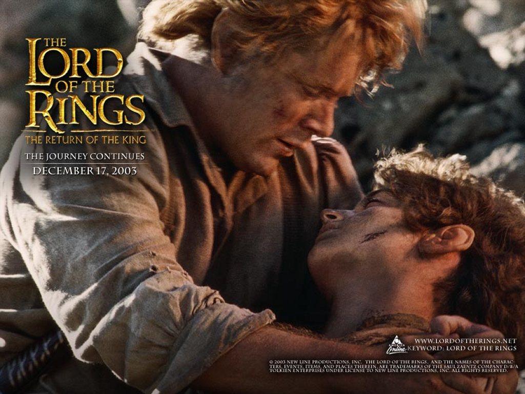 Papel de Parede Gratuito de Filmes : O Senhor dos Anéis - Sam e Frodo