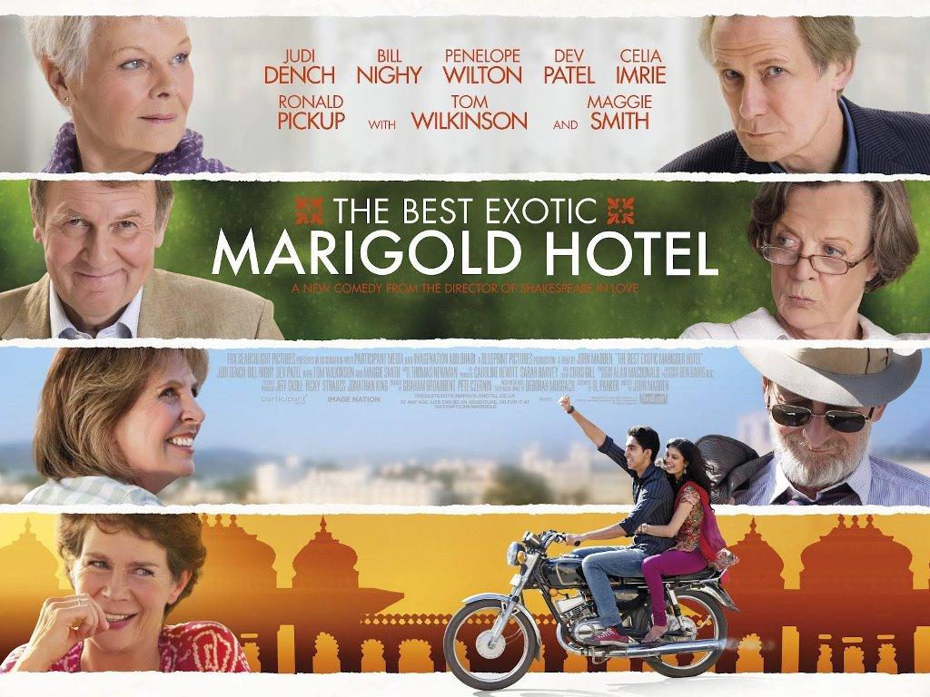 Movies Wallpaper: Marigold Hotel