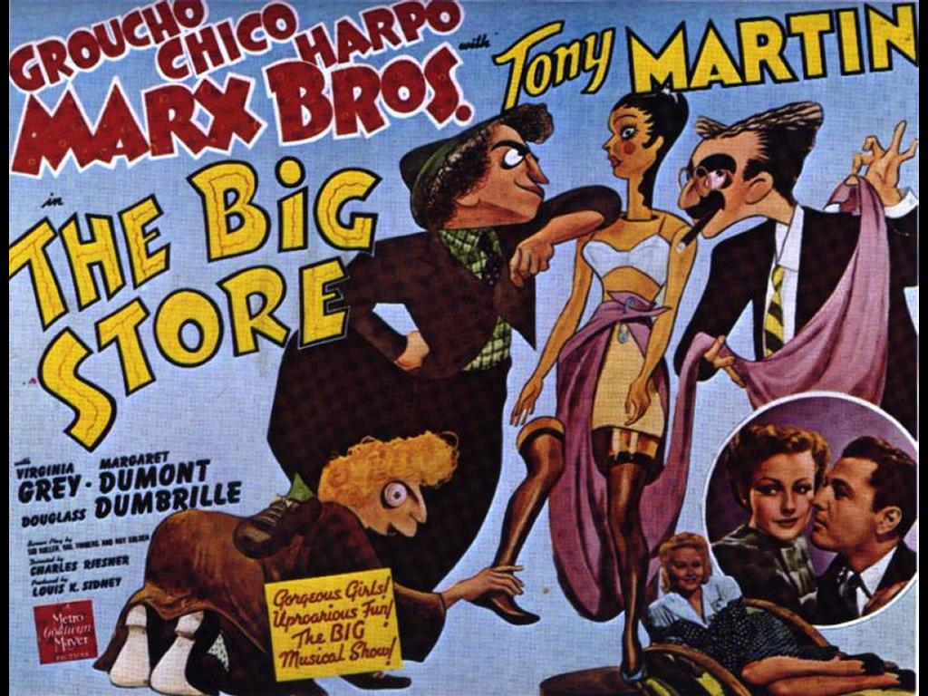 Movies Wallpaper: Marx Brothers - The Big Store