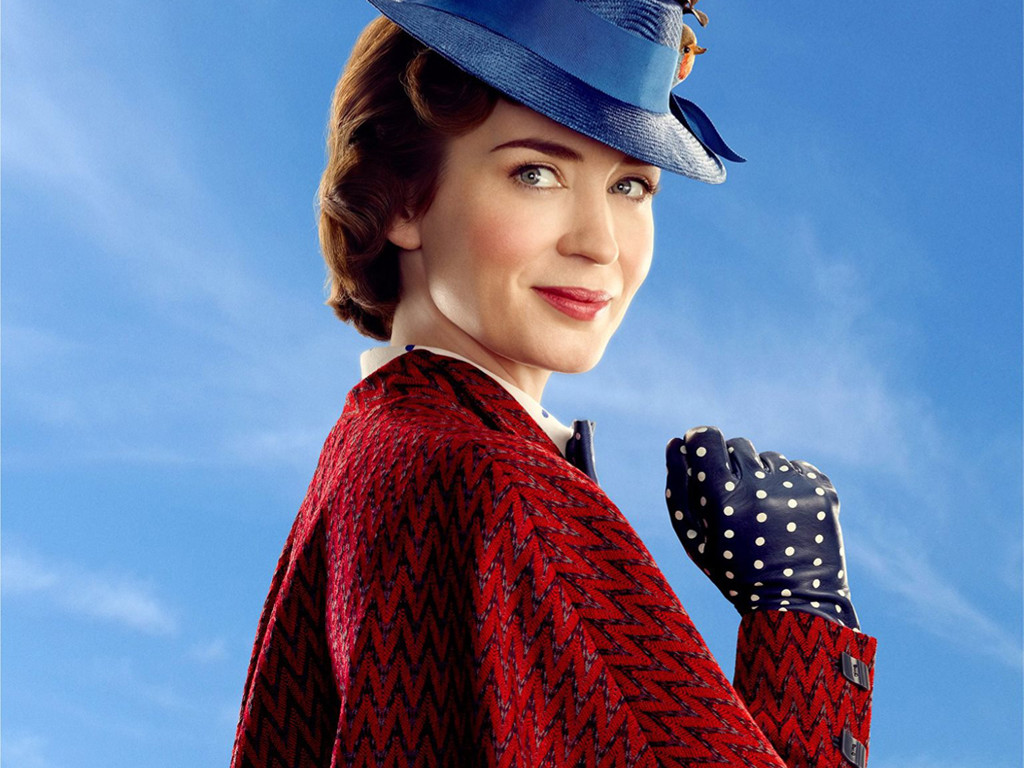 Movies Wallpaper: Mary Poppins Returns