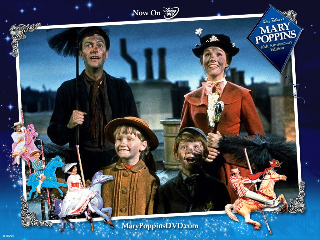 Movies Wallpaper: Mary Poppins