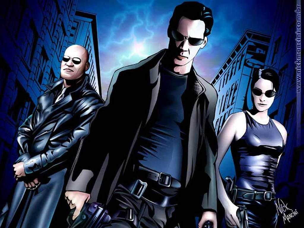 Movies Wallpaper: Matrix Comics