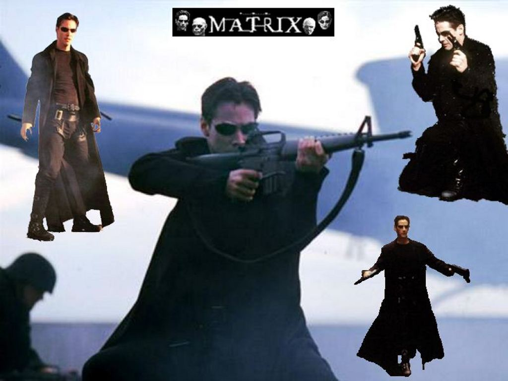 Movies Wallpaper: Matrix - Neo