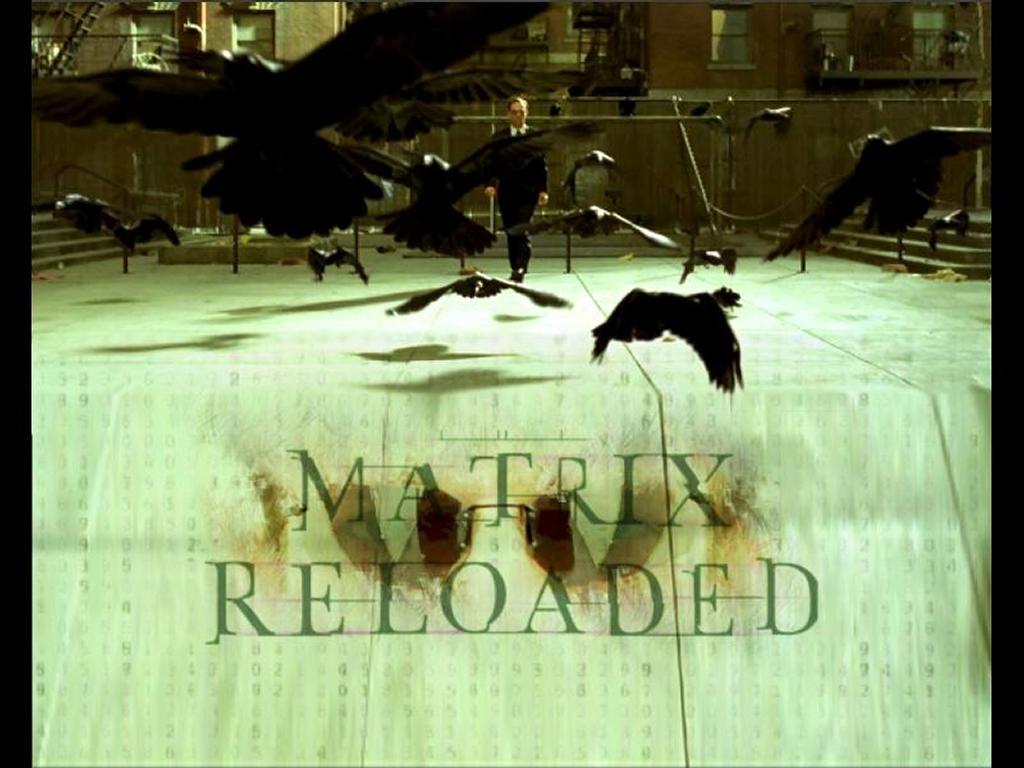Movies Wallpaper: Matrix Reloaded - Agent Smith