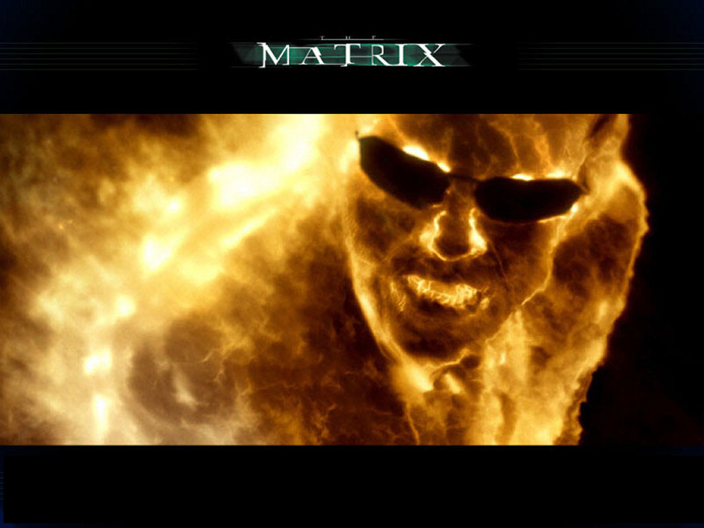 Movies Wallpaper: Matrix Revolutions - Agent Smith