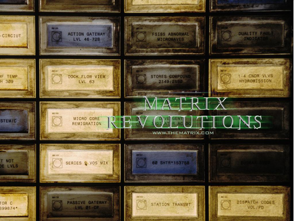 Movies Wallpaper: Matrix Revolutions