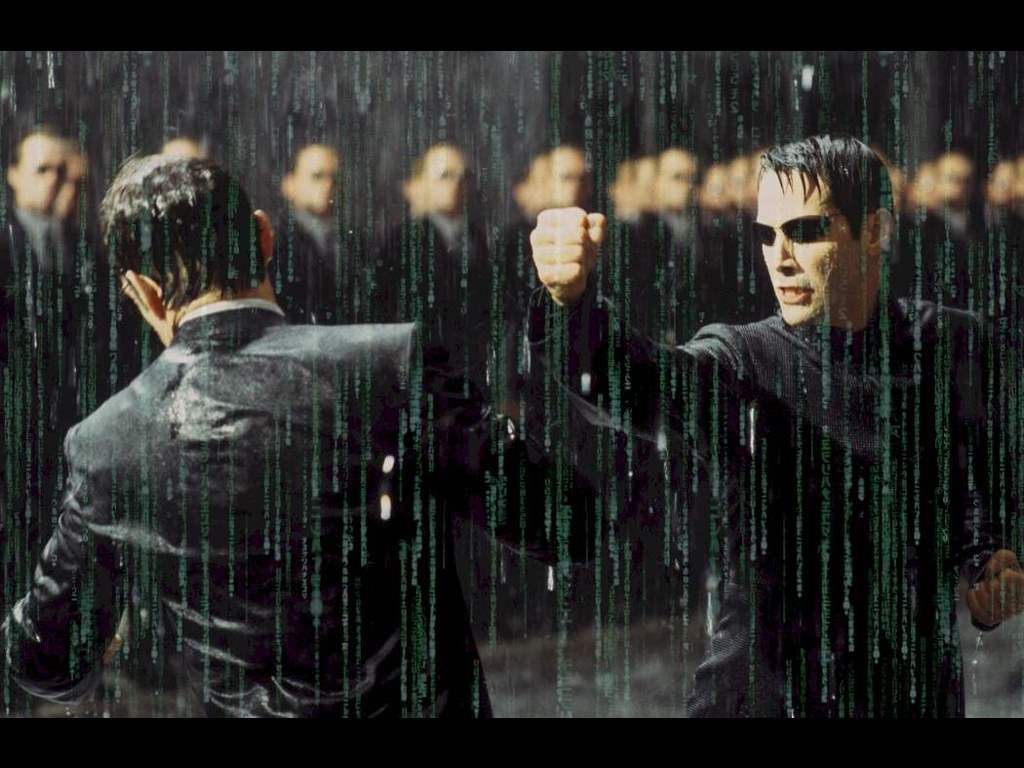 Movies Wallpaper: Matrix Revolutions - Fight