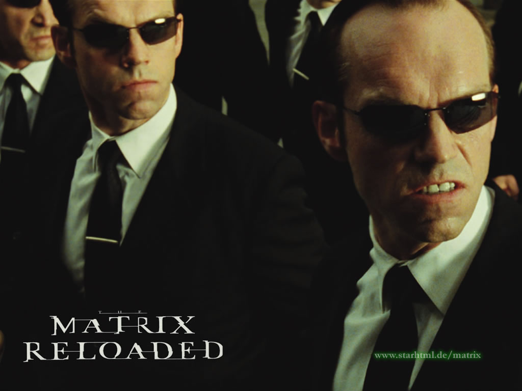 Movies Wallpaper: Matrix - Smiths