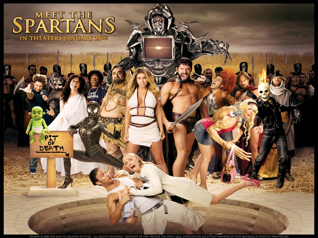 Movies Wallpaper: Meet the Spartans