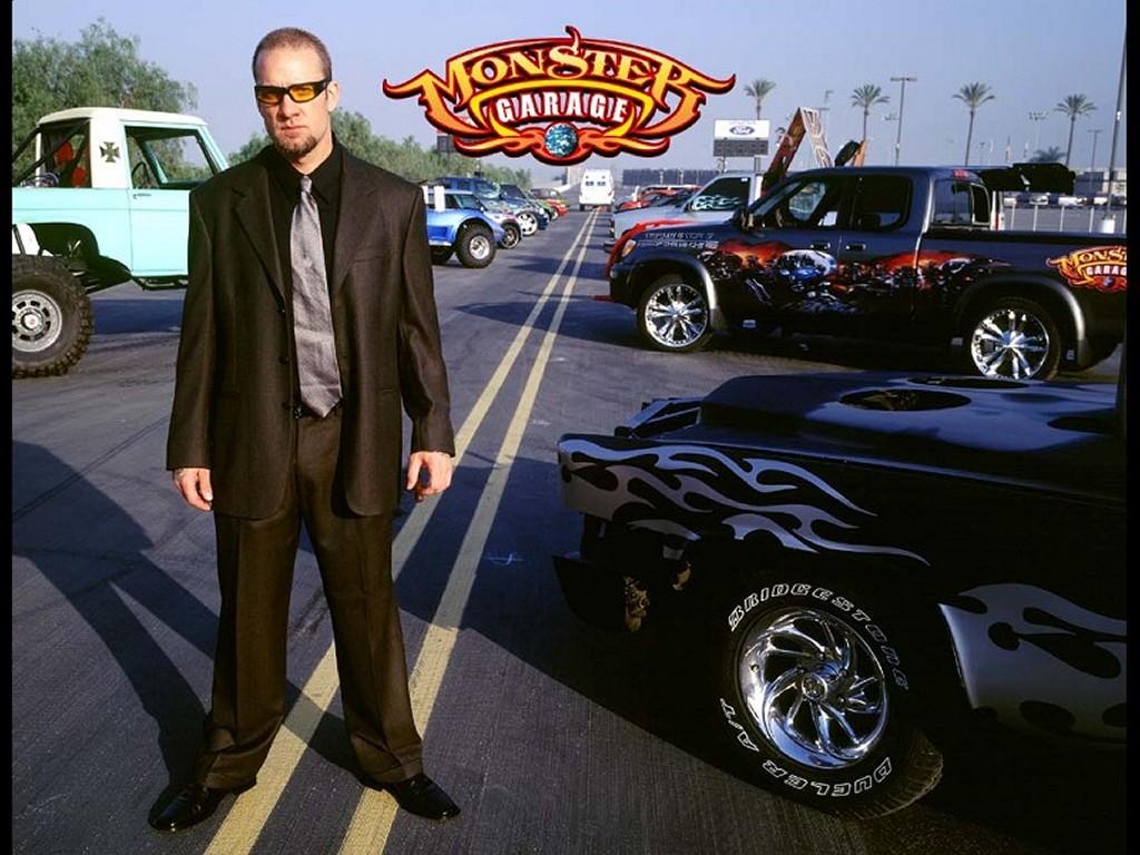 Movies Wallpaper: Monster Garage