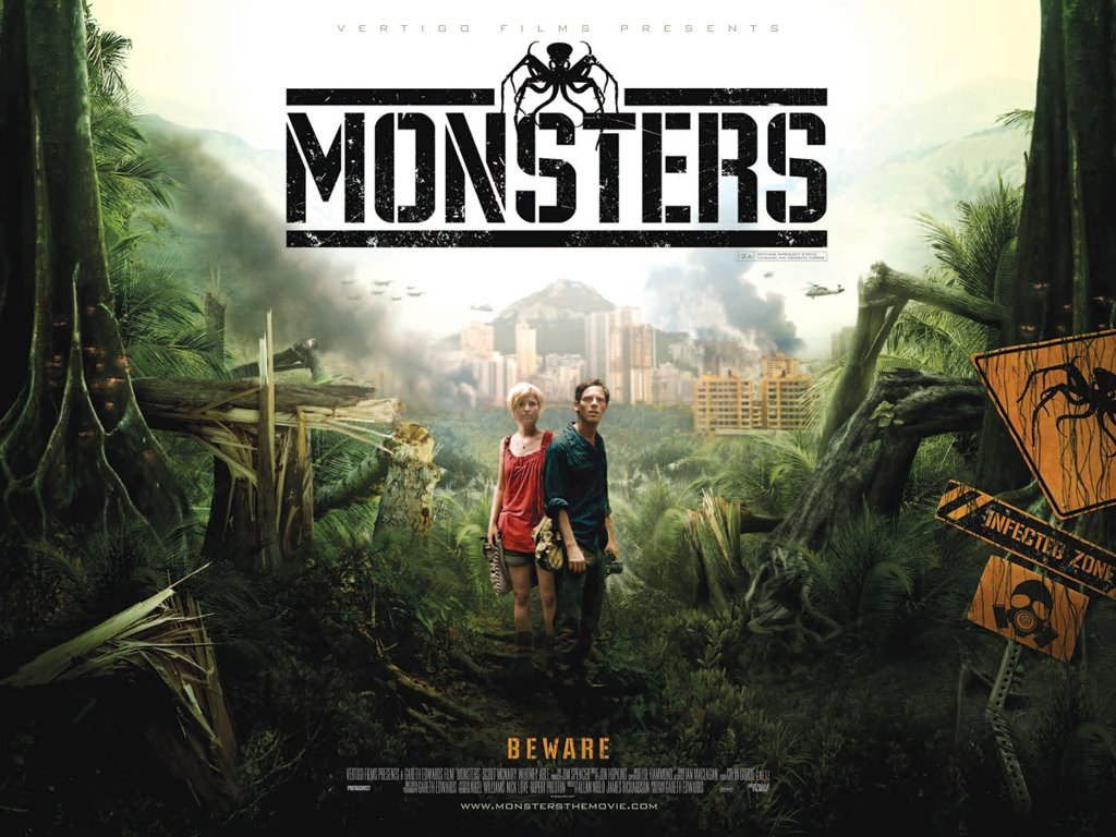 Movies Wallpaper: Monsters